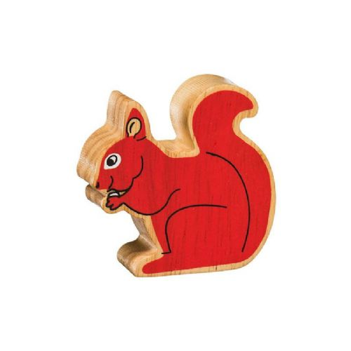 Natural red squirrel